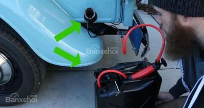 cách rút nhiên liệu khỏi ô tô
