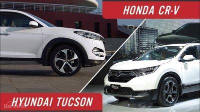 Crossover bán chạy nhất nửa đầu 2018: Hyundai Tucson bám sát Honda CR-V ...