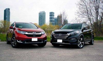 Crossover bán chạy nhất nửa đầu 2018: Hyundai Tucson bám sát Honda CR-V  a1