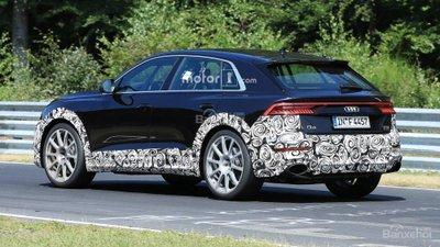 Audi RS Q8 lộ diện trên đường chạy thử - 3