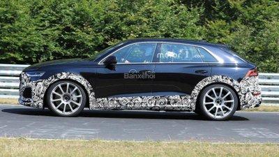 Audi RS Q8 lộ diện trên đường chạy thử - 2