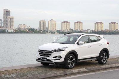 Giá lăn bánh Hyundai Tucson 2018 mới nhất hiện nay...