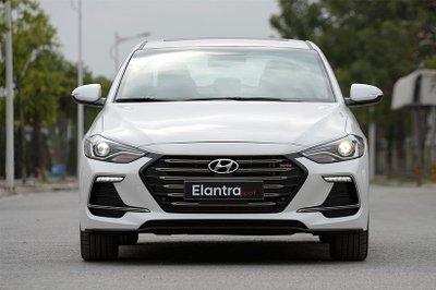 Giá lăn bánh Hyundai Elantra 2018 cho cả 4 phiên bản mới nhất hôm nay...