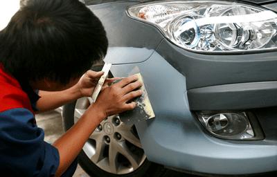 Lựa chọn sơn xe ô tô ở TPHCM màu nguyên bản