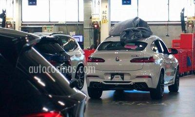 BMW X4M 2019.
