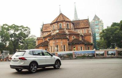 Tháng 7 này, Volkswagen Tiguan Allspace 2018 chính thức mở bán tại Việt Nam a17