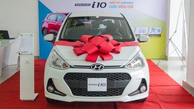 Quy trình vay mua xe Hyundai Grand i10 trả góp..