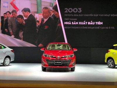 Toyota Vios thế hệ mới chính thức ra mắt Việt Nam, chốt giá thấp nhất từ 531 triệu đồng 1