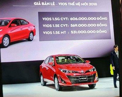 Toyota Vios thế hệ mới chính thức ra mắt Việt Nam, chốt giá thấp nhất từ 531 triệu đồng a6
