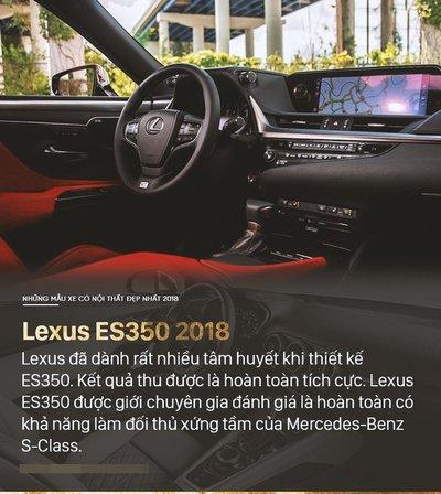 Lexus ES 350 2019 cập nhật mới với giá gần 2 tỷ đồng - 8