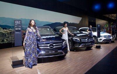 Mercedes-Benz Việt Nam triệu hồi 800 xe GLC vì lỗi túi khí.