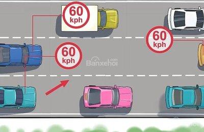 Cách nhập làn an toàn cho xe ô tô