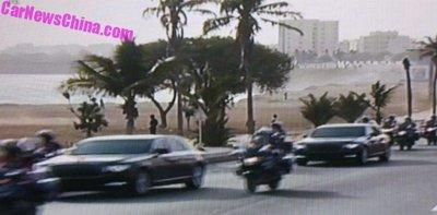 Xe Trung Quốc Hongqi N501 đã lộ diện hoàn toàn tại châu Phi a7