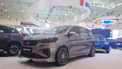 Suzuki Ertiga Sport 2018 concept sẽ được trưng bày tại triển lãm GIIAS 2018.