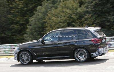 BMW X3M 2019.