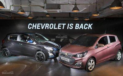 Giá xe Chevrolet Spark 2019