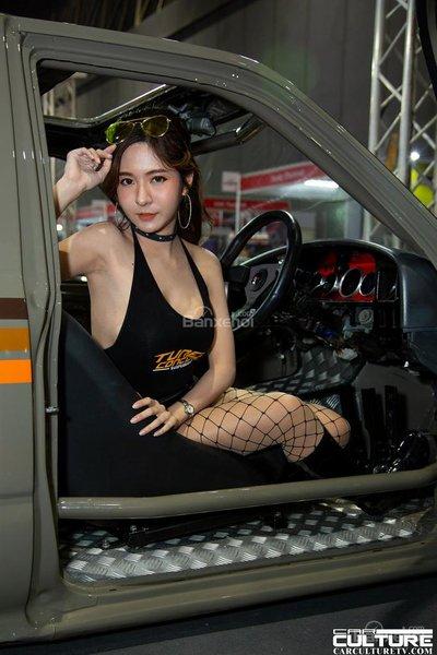 Người đẹp và xe tụ hội tại triển lãm Bangkok Autosalon 2018 - 13