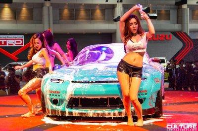 Người đẹp và xe tụ hội tại triển lãm Bangkok Autosalon 2018 - 27