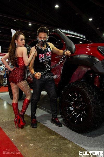 Người đẹp và xe tụ hội tại triển lãm Bangkok Autosalon 2018 - 19