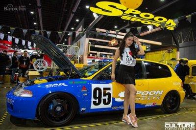 Người đẹp và xe tụ hội tại triển lãm Bangkok Autosalon 2018 - 12