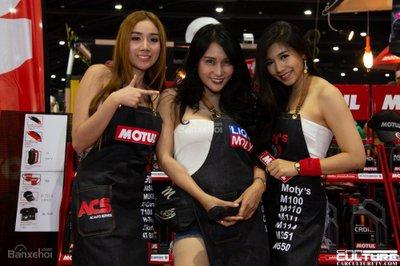 Người đẹp và xe tụ hội tại triển lãm Bangkok Autosalon 2018 - 46