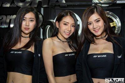 Người đẹp và xe tụ hội tại triển lãm Bangkok Autosalon 2018 - 7
