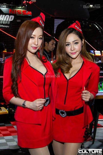 Người đẹp và xe tụ hội tại triển lãm Bangkok Autosalon 2018 - 38