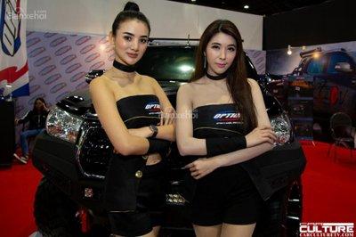 Người đẹp và xe tụ hội tại triển lãm Bangkok Autosalon 2018 - 45