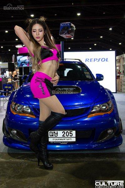 Người đẹp và xe tụ hội tại triển lãm Bangkok Autosalon 2018 - 21