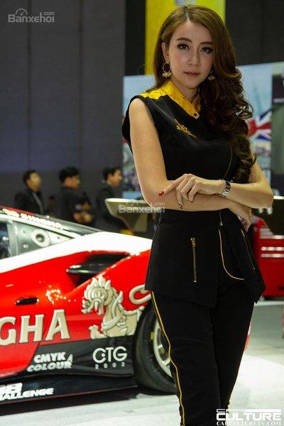 Người đẹp và xe tụ hội tại triển lãm Bangkok Autosalon 2018 - 29
