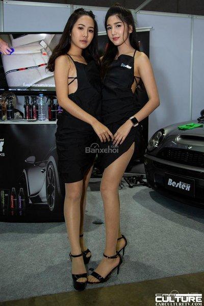 Người đẹp và xe tụ hội tại triển lãm Bangkok Autosalon 2018 - 28