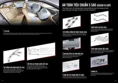 Toyota Vios 2019 thế hệ mới tăng cường trang bị an toàn..