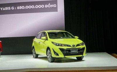 Giá lăn bánh Toyota Yaris 2018 mới nhất vừa bán ra tại Việt Nam..