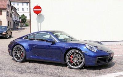 Porsche 911 2019 hiện nguyên hình trên đường thử a2