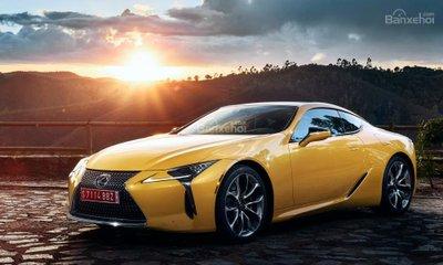 Vén màn Lexus LC Yellow Edition trước ngày ra mắt - 1