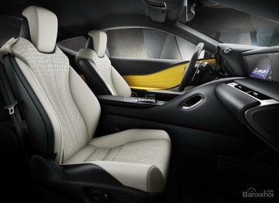 Vén màn Lexus LC Yellow Edition trước ngày ra mắt - 3