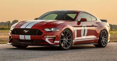 Hennessey Heritage Edition Mustang 2019: Chiếc xe đánh dấu 10.000 xe độ của Hennessey a1