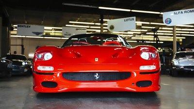 Xôn xao dư luận vì chiếc Ferrari F50 sản xuất đầu tiên bất ngờ được rao bán