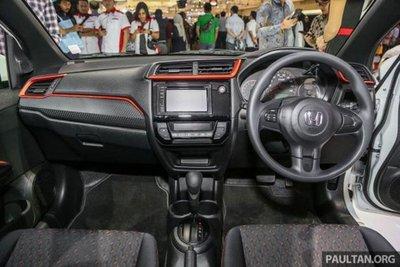 Giá xe hatchback cỡ nhỏ Honda Brio khởi điểm từ 213 triệu đồng 3.