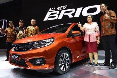 Giá xe hatchback cỡ nhỏ Honda Brio khởi điểm từ 213 triệu đồng 1.