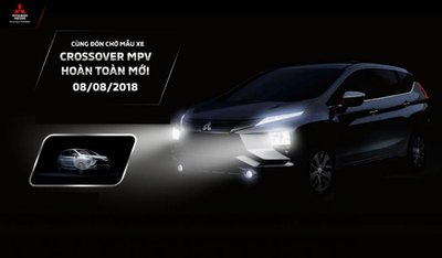 Mitsubishi tung video teaser Xpander mới sẽ xuất hiện tại Việt Nam vào ngày 8/8 tới.
