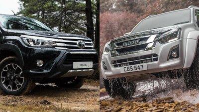 """Toyota và Isuzu """"đường ai nấy đi"""" sau 12 năm hợp tác."""