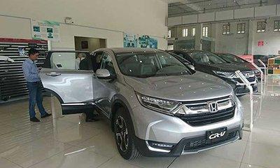 Honda CR-V 2018 tại Việt Nam vừa dùng được 2 tuần đã bị gỉ sét 1