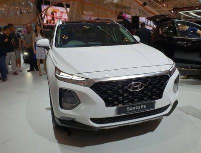 đầu xe Hyundai Santa Fe 2019