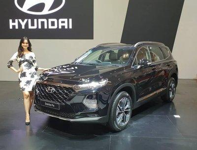 Đông cơ của Hyundai Santa Fe 2019