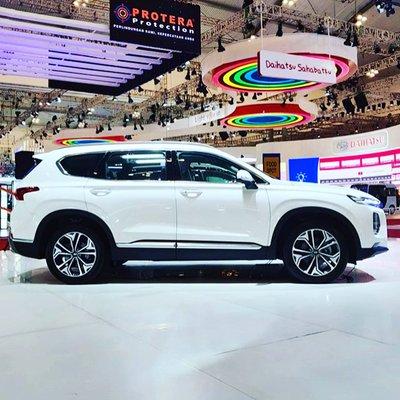 Hyundai Santa Fe  2019 tăng 65 mm chiều dài tổng thể