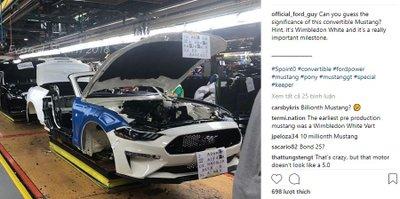 Chiếc Ford Mustang thứ 10 triệu chính thức xuất xưởng tại Michigan a2