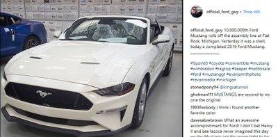 Chiếc Ford Mustang thứ 10 triệu chính thức xuất xưởng tại Michigan a3