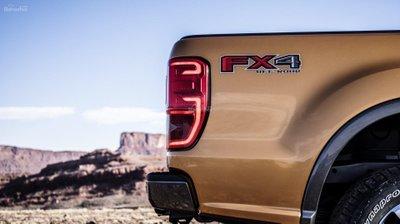 Ảnh đuôi xe Ford Ranger 2019