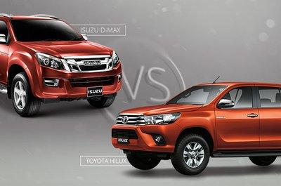 Nửa đầu năm 2018: Thái Lan chỉ chuộng Toyota Hilux và Isuzu D-Max.